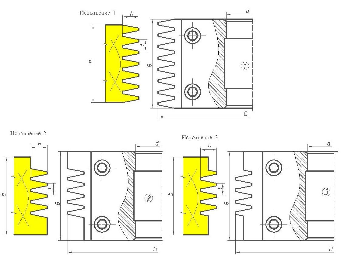 Фрезы сборные для сращивания древесины ДИ-15.01сб