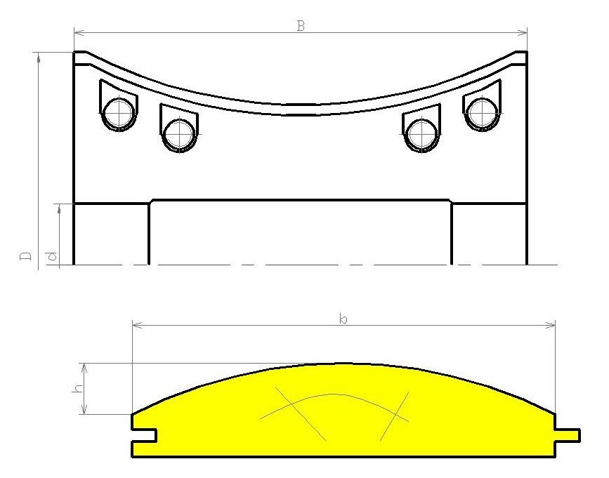 Фрезы для стенового бруса ди-50