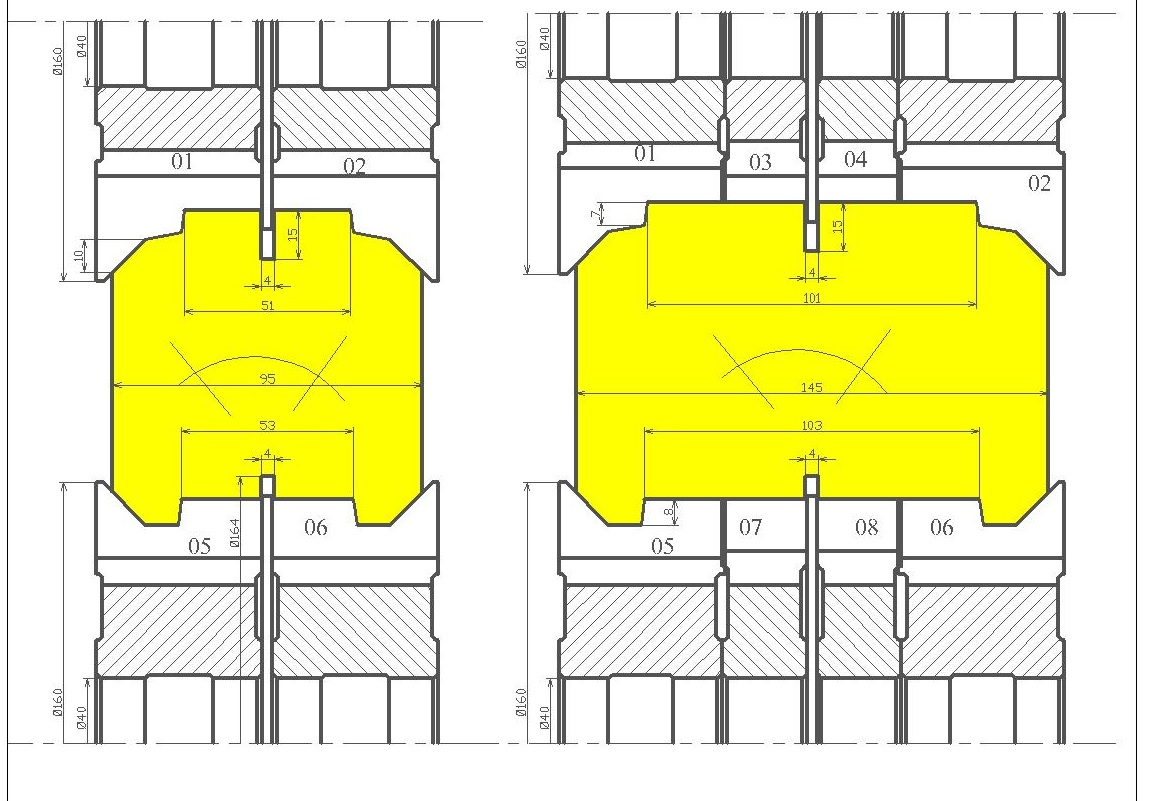 Фрезы для стенового бруса ди-44