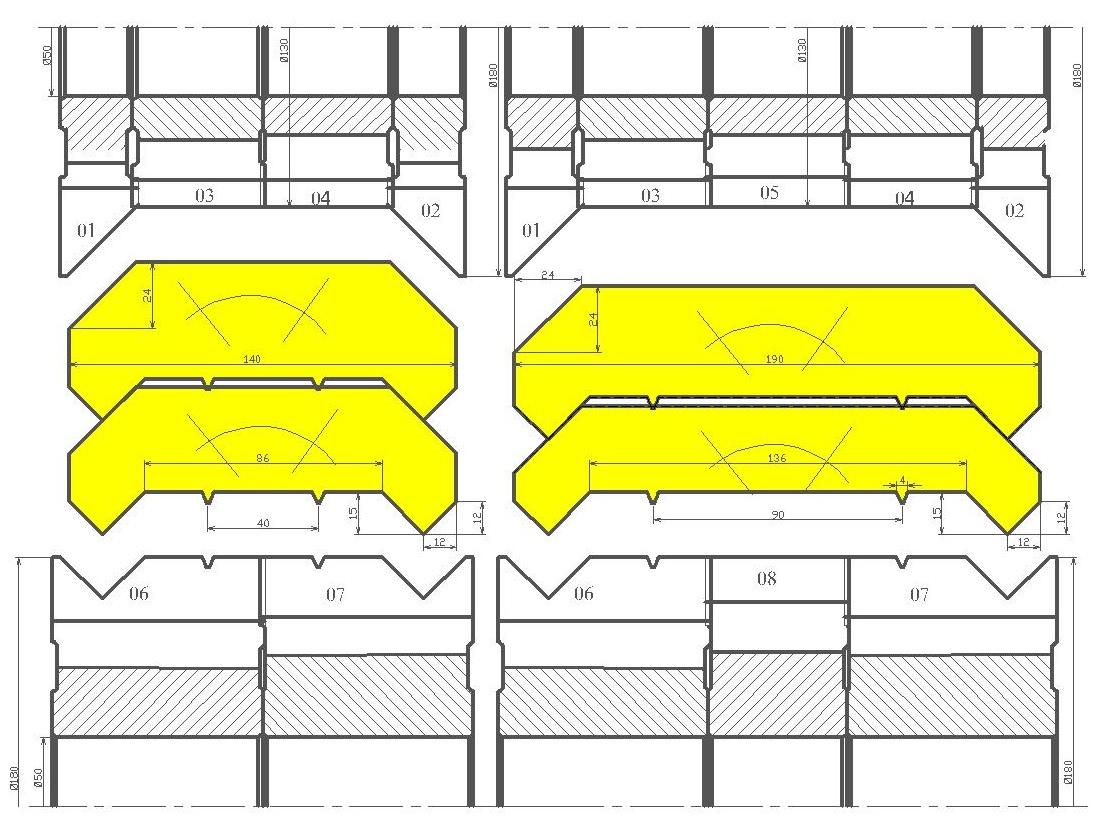 Фрезы для стенового бруса ди-45